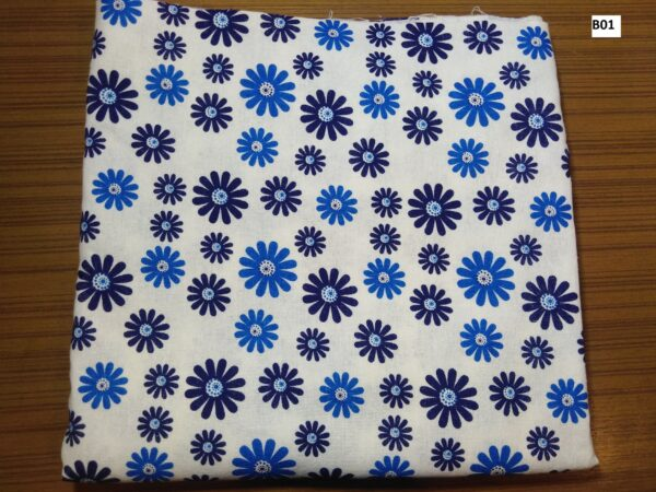 Japanese style printed cotton ผ้าฝ้ายลายญี่ปุ่น B01