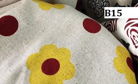 Japanese style printed cotton ผ้าฝ้ายลายญี่ปุ่น B15
