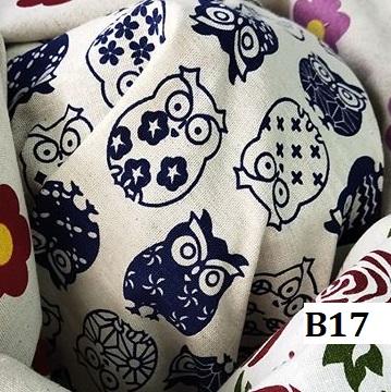 Japanese style printed cotton ผ้าฝ้ายลายญี่ปุ่น B17