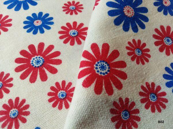 Japanese style printed cotton ผ้าฝ้ายลายญี่ปุ่น B02