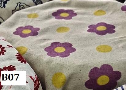 Japanese style printed cotton ผ้าฝ้ายลายญี่ปุ่น B07