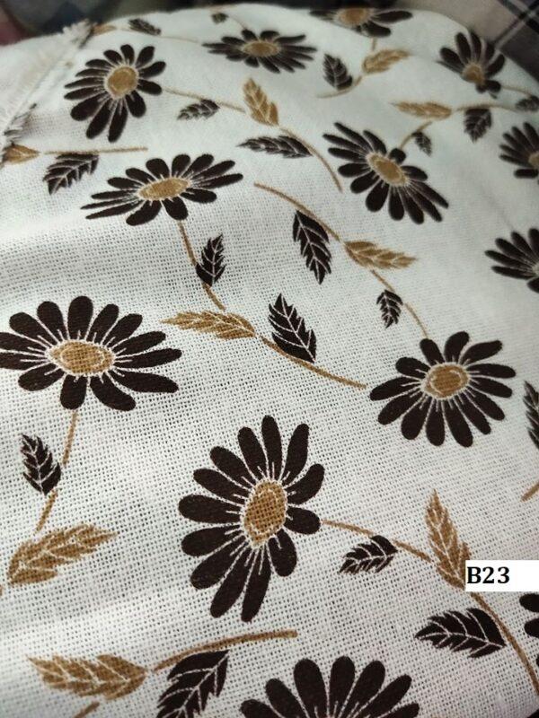 Japanese style printed cotton ผ้าฝ้ายลายญี่ปุ่น B23