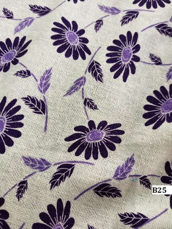 Japanese style printed cotton ผ้าฝ้ายลายญี่ปุ่น B25