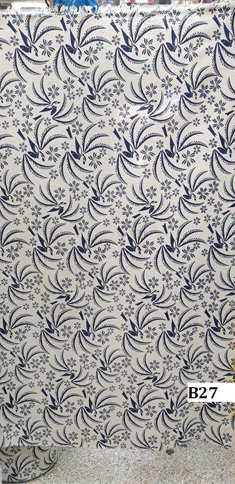 Japanese style printed cotton ผ้าฝ้ายลายญี่ปุ่น B27