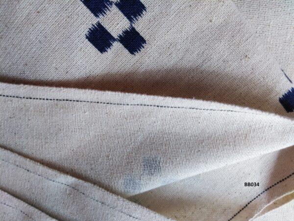 Soft printed cotton ผ้าฝ้ายฟอกนุ่มพิมพ์ลาย BB034