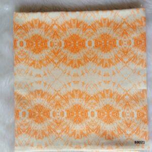 Soft printed cotton ผ้าฝ้ายฟอกนุ่มพิมพ์ลาย BB021