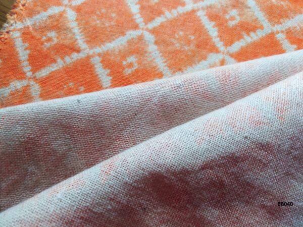 Soft printed cotton ผ้าฝ้ายฟอกนุ่มพิมพ์ลาย BB040