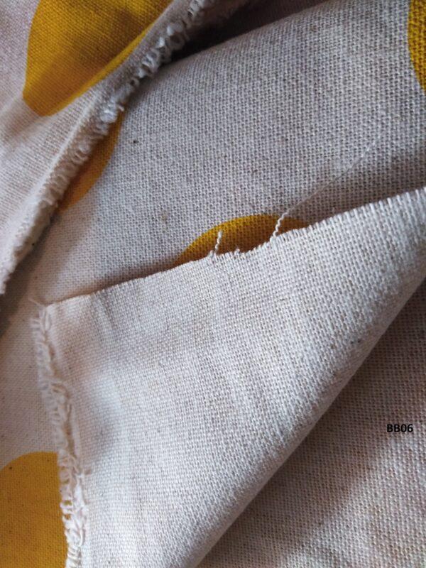 Soft printed cotton ผ้าฝ้ายฟอกนุ่มพิมพ์ลาย BB06