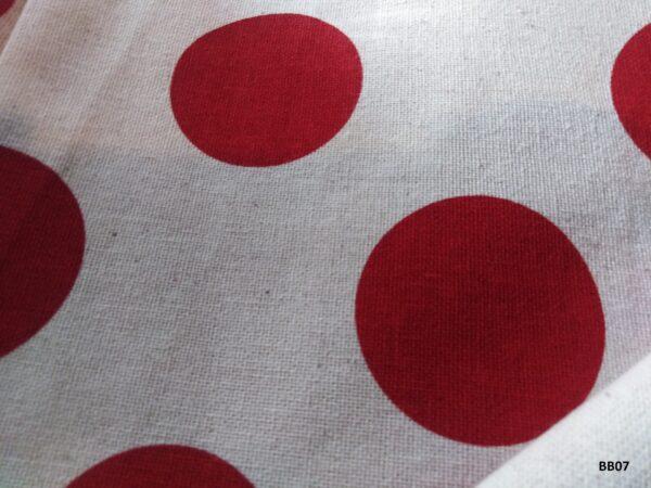 Soft printed cotton ผ้าฝ้ายฟอกนุ่มพิมพ์ลาย BB07