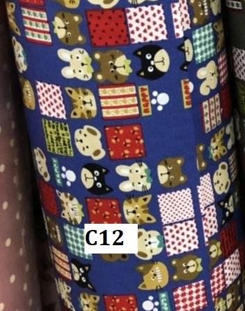Japanese cotton ผ้าคอตตอนญี่ปุ่น C12