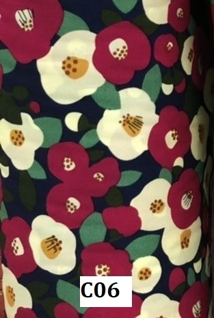 Japanese cotton ผ้าคอตตอนญี่ปุ่น C06