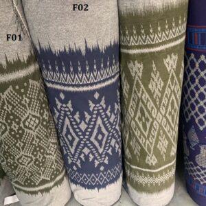 Mud cloth ผ้าหมักโคลน F02
