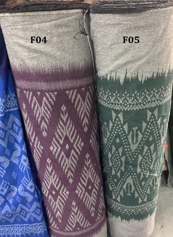 Mud cloth ผ้าหมักโคลน F04
