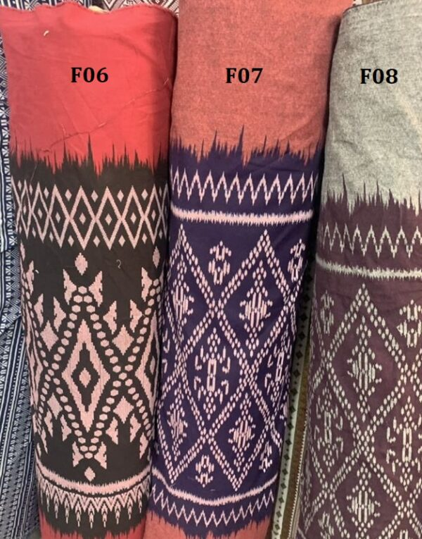 Mud cloth ผ้าหมักโคลน F06