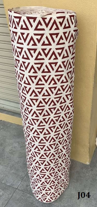 Printed pattern cotton ผ้าฝ้ายพิมพ์ลาย J04