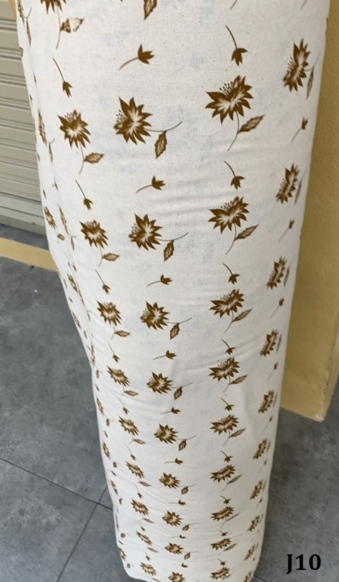 Printed pattern cotton ผ้าฝ้ายพิมพ์ลาย J10