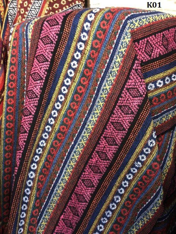 Naga fabric ผ้านากา K01