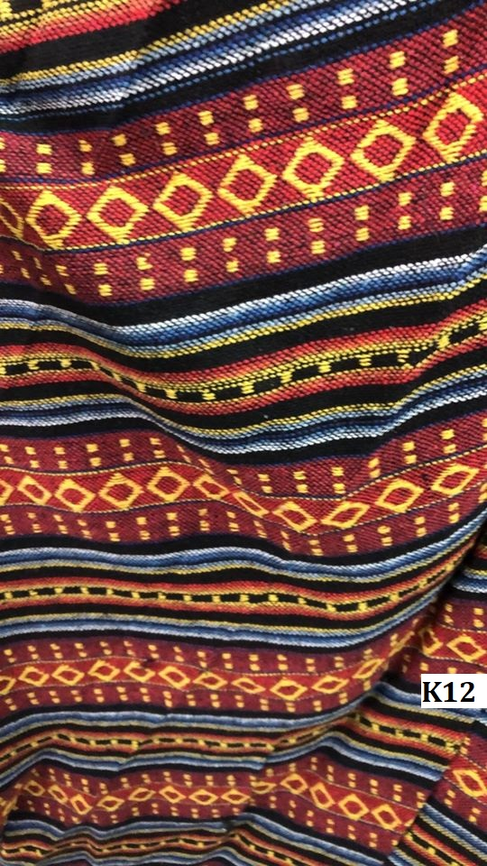 Naga fabric ผ้านากา K12