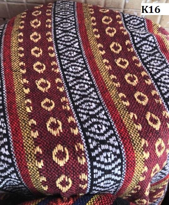 Naga fabric ผ้านากา K16