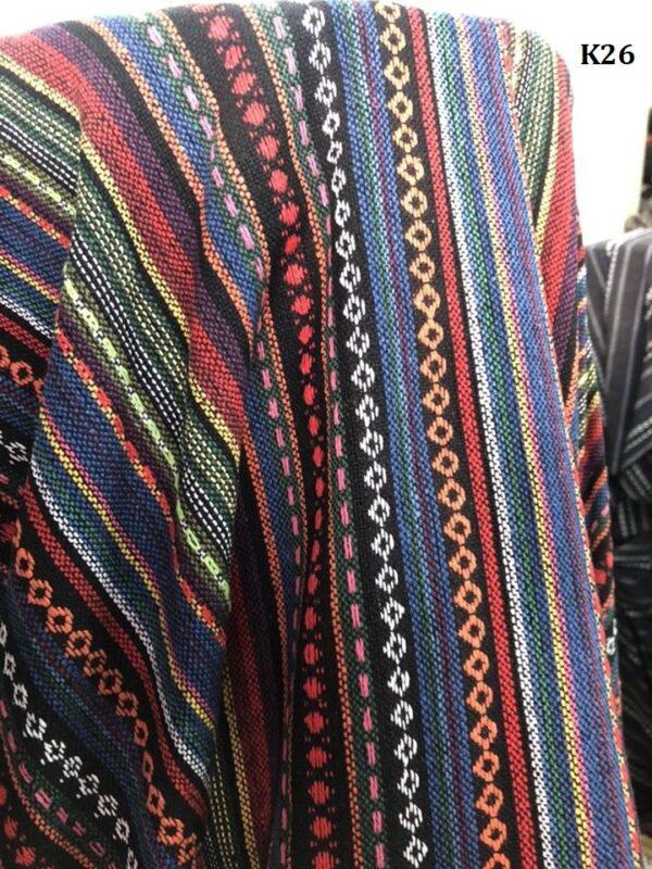 Naga fabric ผ้านากา K26