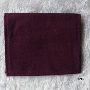Lanna soft plain color cotton ผ้าฝ้ายเมืองสีพื้นซักนุ่ม LP01