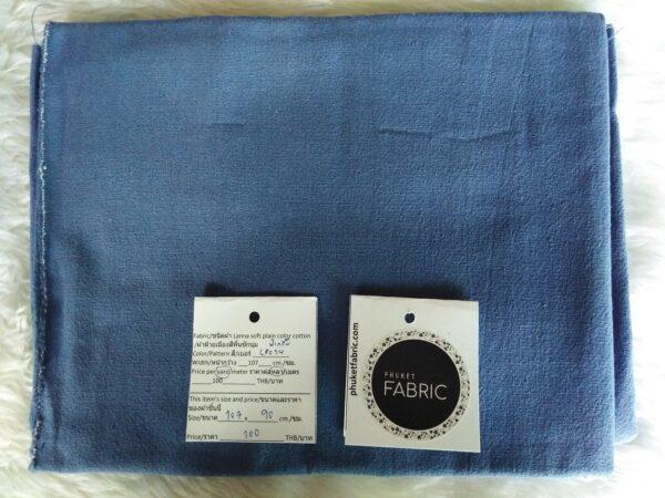 Lanna soft plain color cotton ผ้าฝ้ายเมืองสีพื้นซักนุ่ม LP034